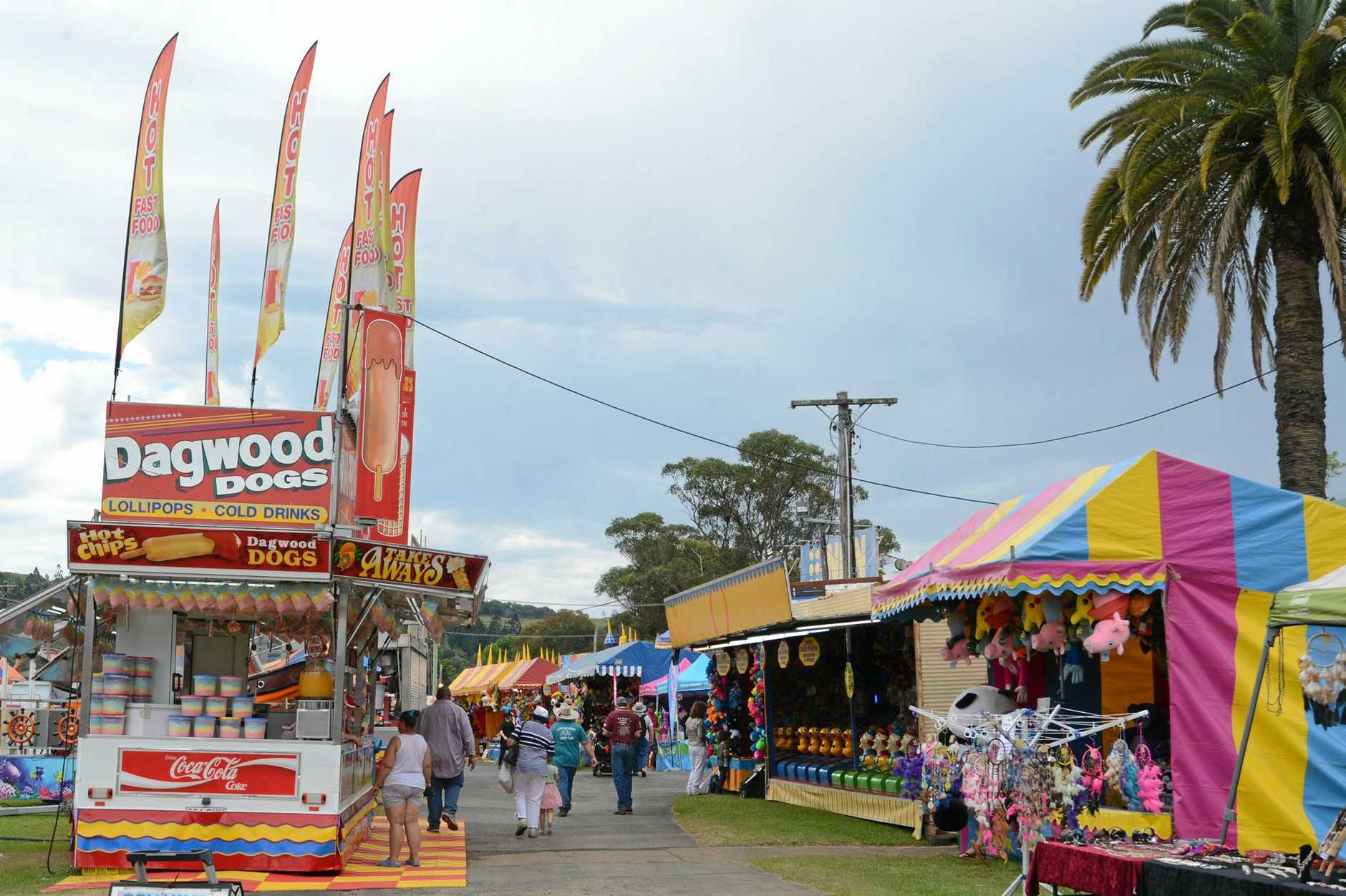 Sideshow Alley at the North Coast National. Photo Cathy Adams / The Northern Star