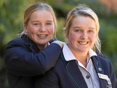 FAMILY TIES: Kayla (left) and Courtney Jackson will both represent Australia in futsal next year.
