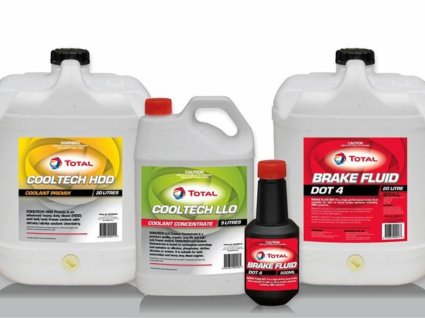 Total Lubricants have launched new Cooltech Coolant and brake fluid to the market.