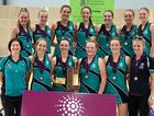 CHAMPS: The victorious Flinders firsts team.