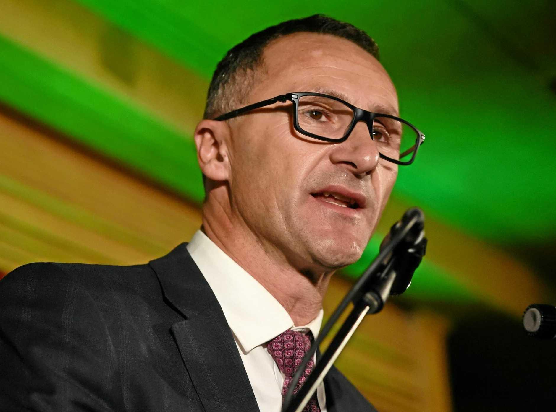 Greens leader Senator Richard Di Natale.