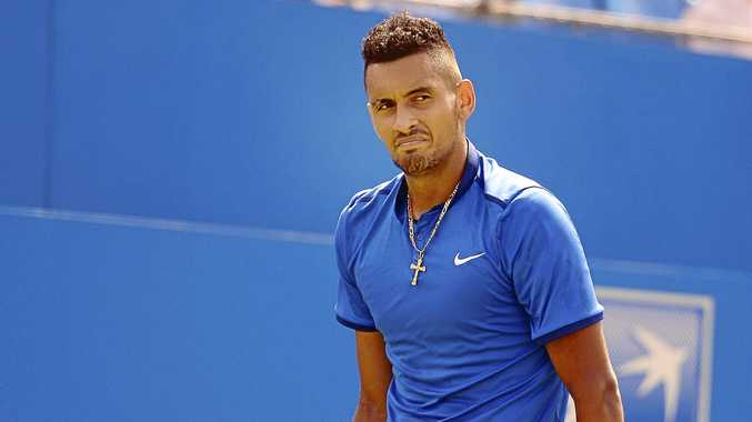 Australia's Nick Kyrgios has been banned from the ATP Tour for eight weeks.