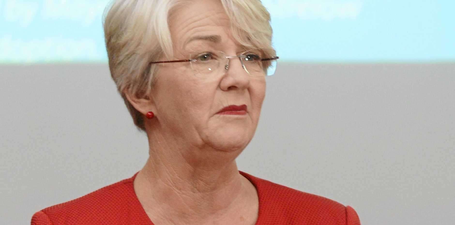 Rockhampton Regional Mayor Margaret Strelow said rail company Aurizon should pay land rates to councils in the state.