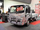 Isuzu on show at the 2015 Perth Truck and Trailer Show