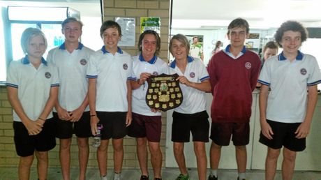 McAuley Catholic College junior boys side defeated Maclean High School in a thrilling one point contest in the final.
