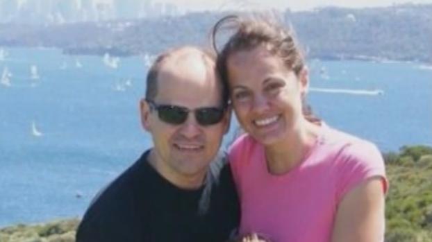 Maria Claudia Lutz and Fernando Manrique.