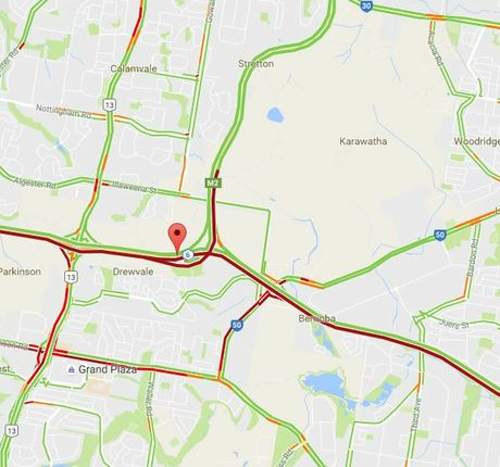 Heading east or west on the Logan Mwy? Make sure you have a decent playlist, it's going to take a while.