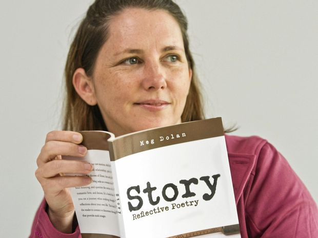 PUBLISHED PROSE: Meegan Dolan is proud about the release of her book Story Reflective Poetry.