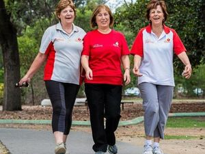 New walking groups stepping up