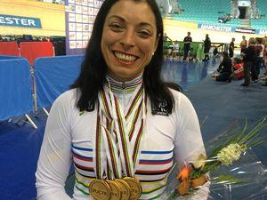 Laurelea has 'Cool Runnings' moment before world record win