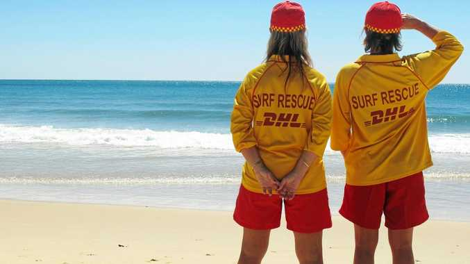 Life savers are often on the front line in a shark attack