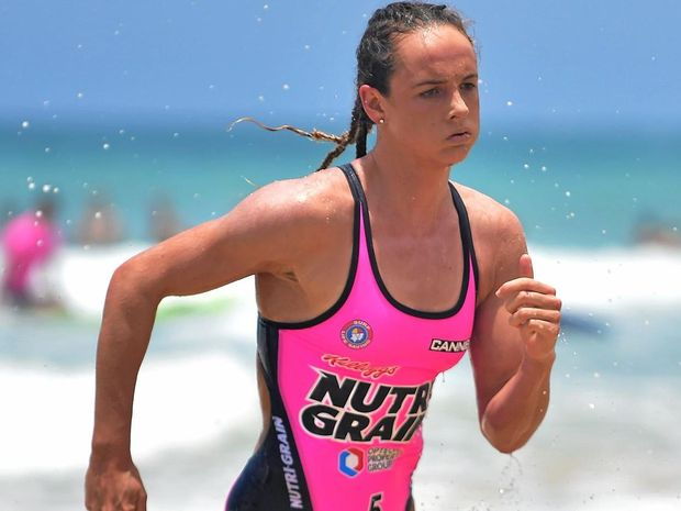 ONE TO BEAT: Reigning Nutri-Grain Ironwoman Series champion Jordan Mercer will be in action at Alexandra Headland this weekend.