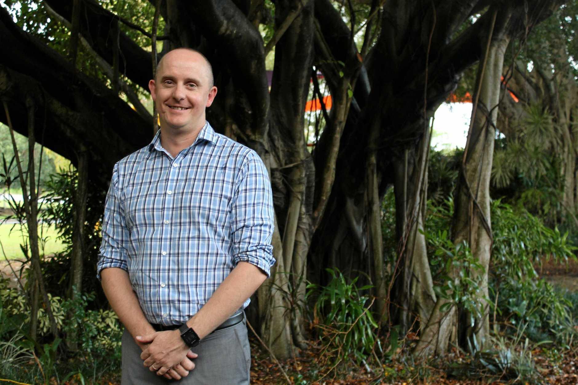 Mackay Tourism general manager Tas Webber.