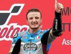 Australian rider Jack Miller celebrates after winning at Assen in June.