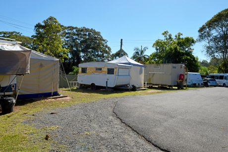Woombye Gardens Caravan Park is owned by Sundale which has admitted it dropped the ball in the way tenants were advised they had to get out.
