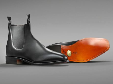 R.M. Williams claims to make the best boots in the world.