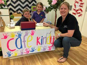 Kindy kids raise drought dollars