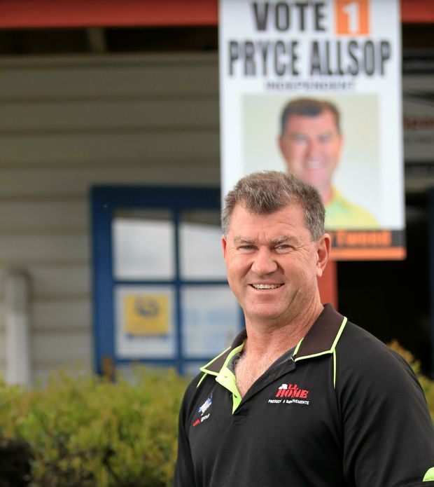 CUT RED TAPE: Council candidate Pryce Allsop from Murwillumbah.