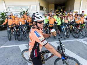 Coffee jumpstart for bike tour