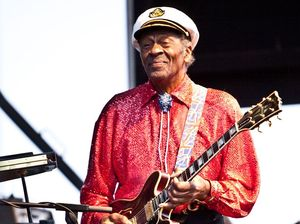 Chuck Berry announces first new album since 1979