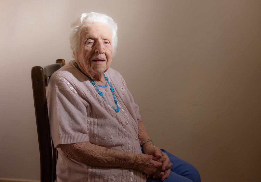 Stella Wiblen will celebrate her 100th birthday on Monday.