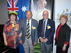 OAMS ALL ROUND: Eleanor Dean OAM (Vice Convenor), Raymond Young OAM (Convenor), Wallace & Rondha Taylor.