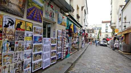 Montmartre, Paris, June 2016.
