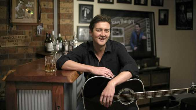 READY TO ROLL: Adam Harvey will headline the list of performers at this year's Clarence Valley Country Muster.