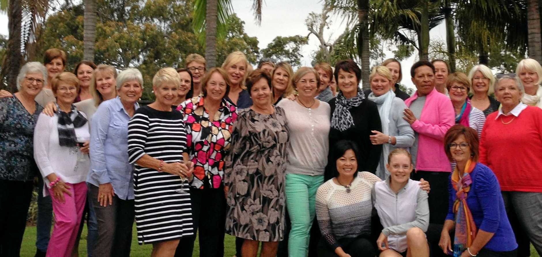 The ladies of the now closed Peregian Springs Golf Club want their way of life back and playing.