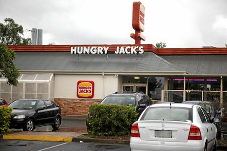 BUSY: A Hungry Jack's outlet.