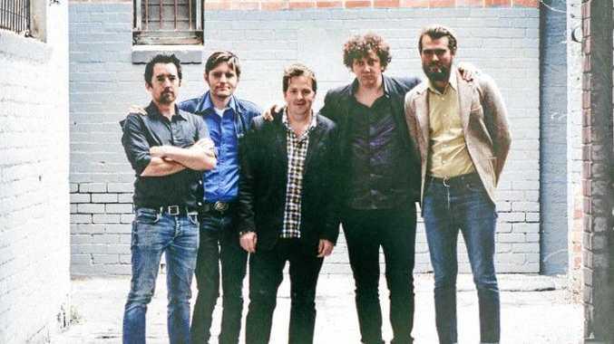 COUNTRY BLUES: The Wilson Pickers - Sime Nugent, Danny Widdicombe, John Bedggood, Ben Salter and Andrew Morris.