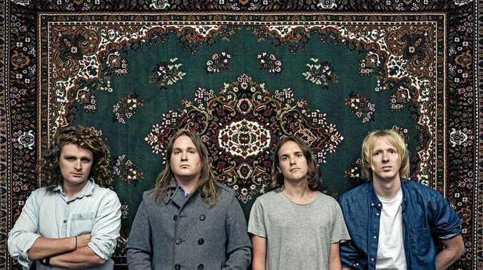 LIVE AND LOUD: Indie rockers British India will be one of the bands taking to the stage on Sunday night.