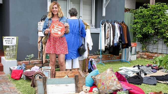 BAG A BARGAIN: Several sales are being held in Rockhampton and the Central Highlands on Saturday as part of the national Garage Sale Trail.