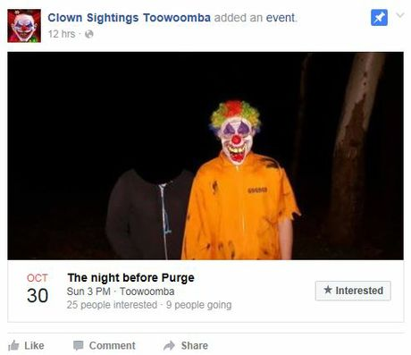 Clowns are planning a purge