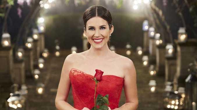 Georgia Love pictured in a scene from The Bachelorette finale.