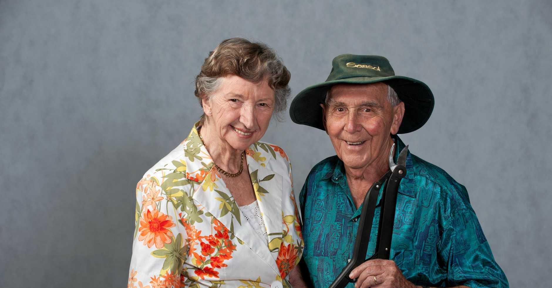 Famous Coast Gardeners Valerie and Gerry Zwart.