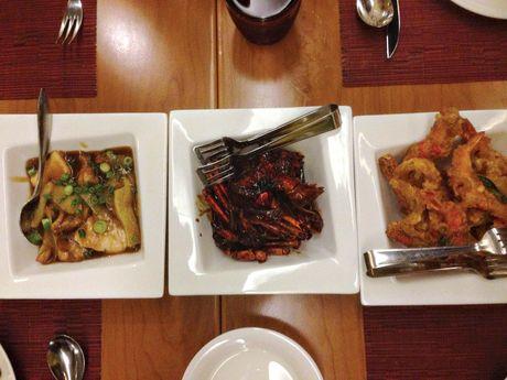 Seafood three ways.