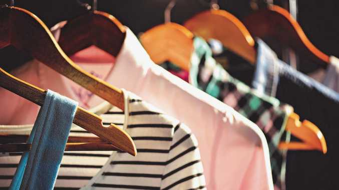 Organising wardrobes will make it much easier to find items on a daily basis.