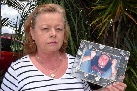 REMEMBERING: Karen Eveleigh, mum of 2006 crash victim Mitchell Eveleigh, honours her son's  passing 10 years on.