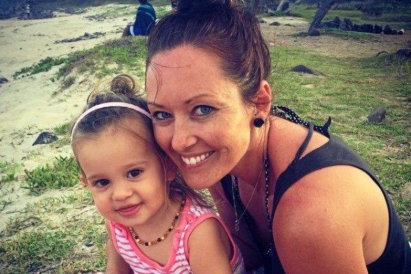 A photo of Amanda Nash and her daughter Bonnie, posted on the GoFundMe fundraising page.