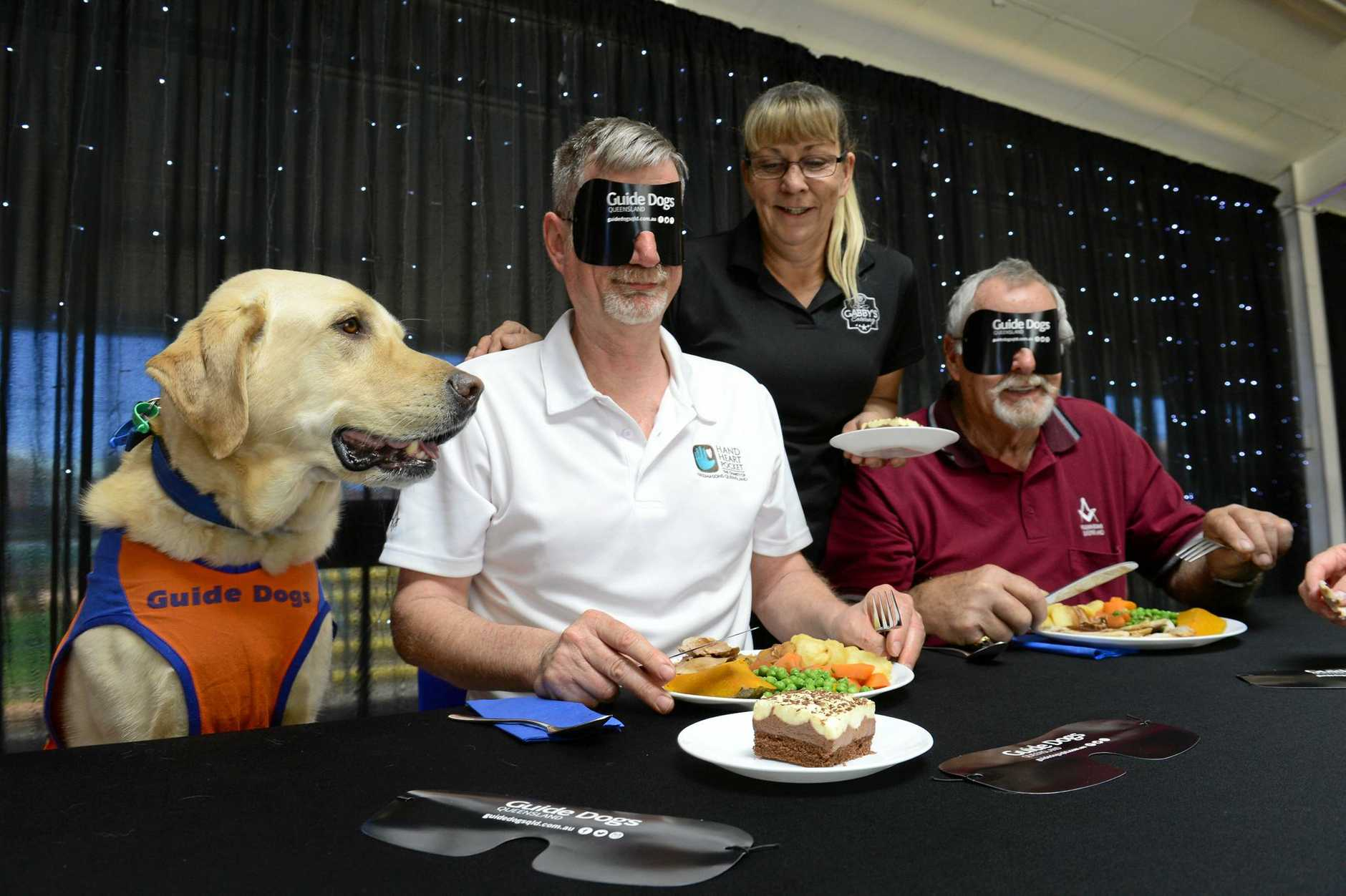 Support the United Tradesmen's Lodge as they raise funds for Guide Dogs Queensland by Dining in the Dark