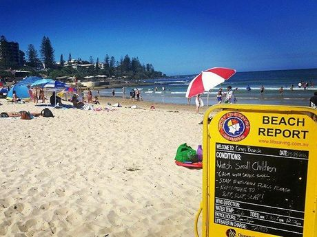 PICK OF THE BEACHES: Kings Beach is the pick for Saturday, protected from northerly winds and the currents that are carrying sea lice.