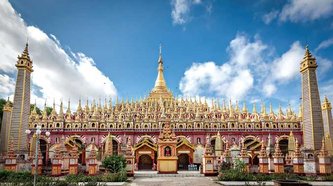 The Thanboddhay Pagoda, Myanmar.