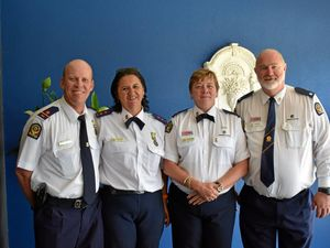 Missing teen search wins award for volunteer crew