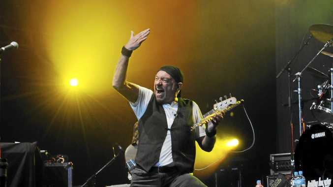 ICONIC: Ian Anderson of Jethro Tull at Bluesfest 2011.