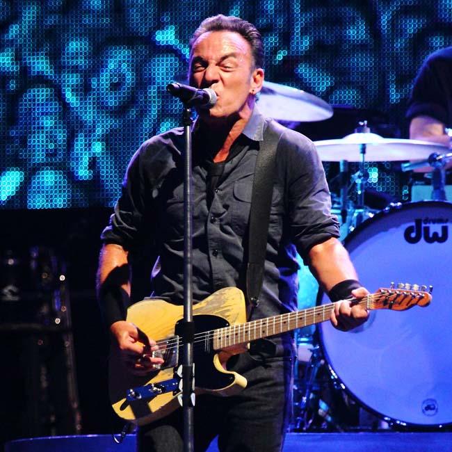 Singer Bruce Springsteen