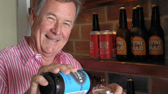 CHEERS: Gympie Rotary Club president Spencer Slatter samples a craft beer ahead of the Craft Beer Open Door on October 29-30.