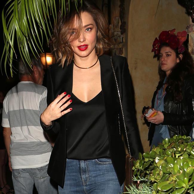 Supermodel Miranda Kerr