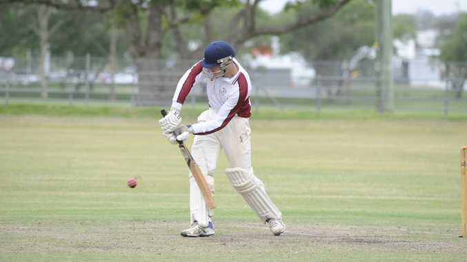 Brothers skipper Jake Kroehnert. who scored 102 in Sunday's representative match against Lismore, got his eye in on Saturday against Easts in premier league, scoring 48no.