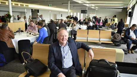 First international passenger flight by Qantas from Brisbane West Wellcamp Airport to Shanghai. Peter Brodie from PB Agrifoods. October 23, 2016